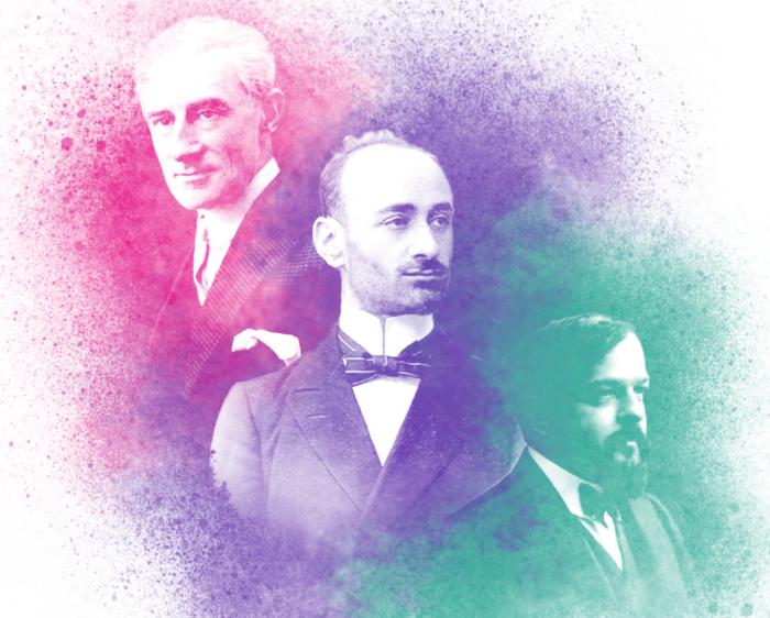 Komitas et ses contemporains, Ravel et Debussy