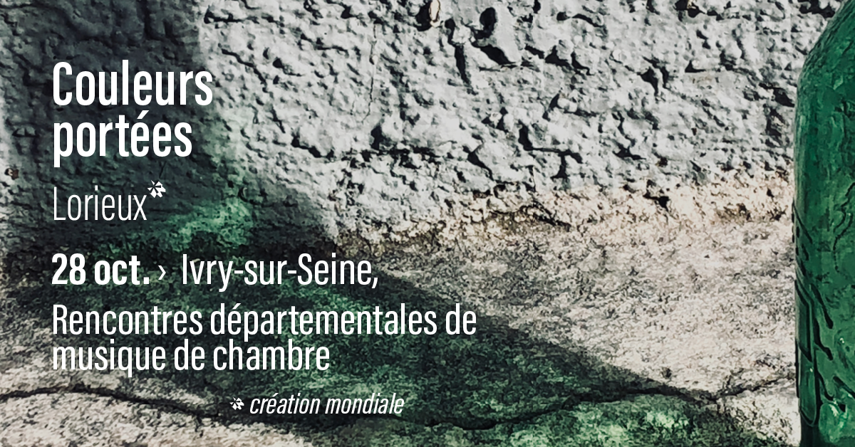 2e2m • Couleurs portées • 28 oct. > Ivry-sur-Seine